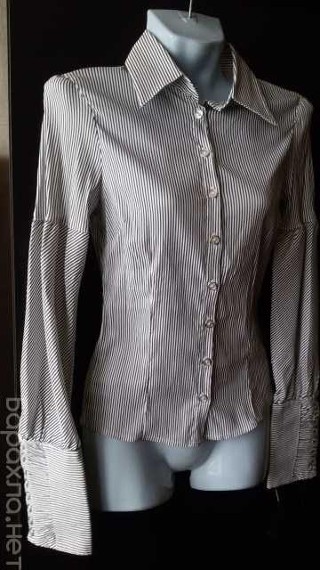 Продам: Блузка в тонкую полоску р. 44-46 новая Т