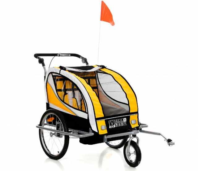 Продам: Велоприцеп с амортизатором, детский