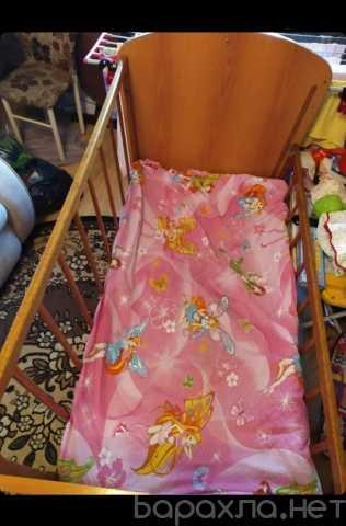 Отдам даром: детская кроватка