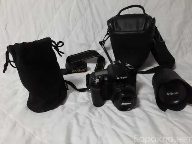 Продам: Nikon D90 + 2объектива + сумка