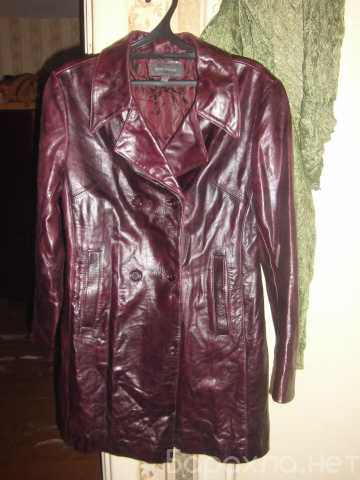 Продам: Куртка плащ натуральная кожа