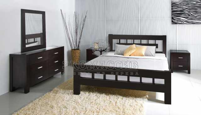 Продам: Кровать Сакура из массива дуба, сосны