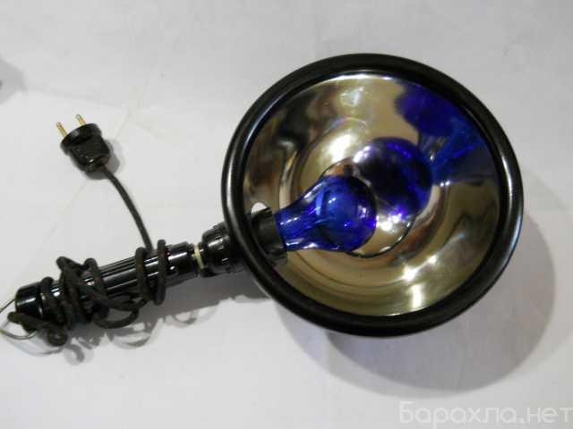 Продам: синяя лампа